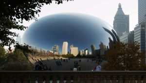 Cloud Gate, Chicago, IL by shuttermonkey89