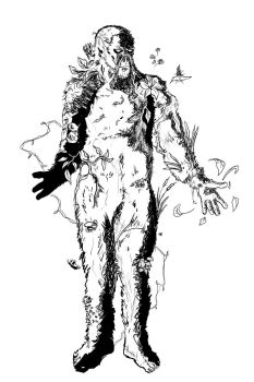 Swamp Thing Lines by maniacmatt