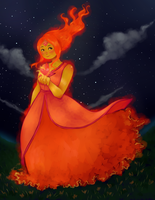 Kiriban - Flame Princess by amberriess