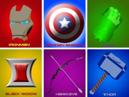 Avengers Assemble by BlindAcolyte