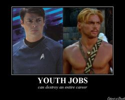 Youth Jobs Karl Urban by CABARETdelDIAVOLO