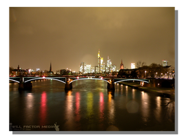 Rainy Night in Frankfurt by WillFactorMedia
