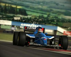 Erik Comas at Magny Cours by thylegion
