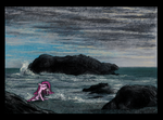 Beached Pinkie by Hewison