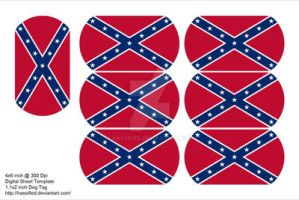 Confederate Dog Tags by hassified
