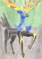 Xerneas by D7Andres