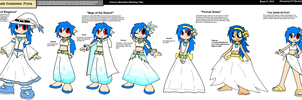 Alternate Costumes -Fiona- by Firewarrior117