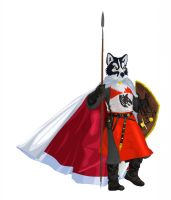 Wolf knight by argenholydrake