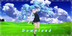 Tda Sundae Miku (DOWNLOAD) 14 years old by YamiSweet