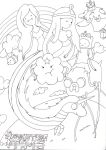 Adventure Time Lineart by PrntScr