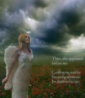An Angel's Glimpse by creativemikey