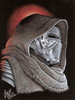 Kylo Ren 0011 copy by AndyGill1964