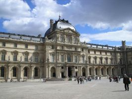 Louvre again by Miundel