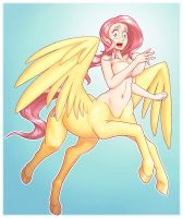 My little centaurs - fluttershy II - wings by jkrolak
