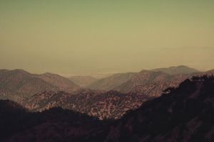 cyprus mountains (vintage) by KoinsUser