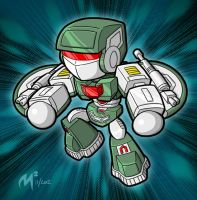 MR29 UFO Robo by MattMoylan
