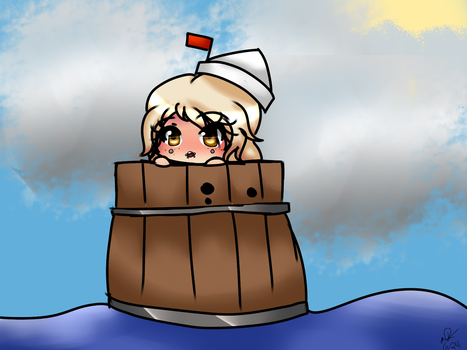 Sailing in a barrel in a sea of pussy by despairsouda