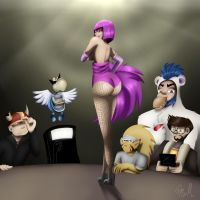 Burlesque... Strip Tease by Poka-SorM