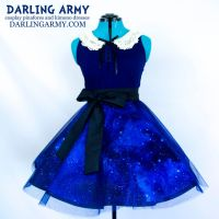 Galaxy Girl Sparkle Tulle Skirt by DarlingArmy