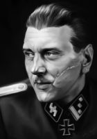 Otto Skorzeny by Luftwaffles