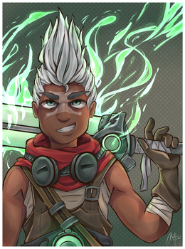 Ekko: The Boy Who Shattered Time by CNTom