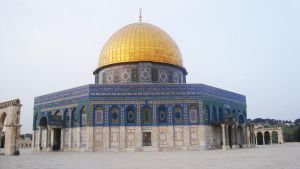 The dome of the rock by Haleema-A