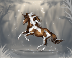 Elandis in the peaceful Aurora by calie-coco