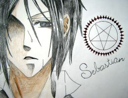 Sebastian Michaelis by EmbryoHimeElric