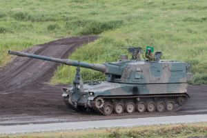 Type 99 155 mm self-propelled howitzer by DDmurasame