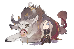 Chibi bunch for Ryltha by Rayamira