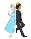 Simon and Elsa by WhalesharkMushroom
