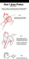 MLP FiM: How I draw Ponies by Bronyshoe