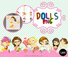 Dolls .png by a-Liini