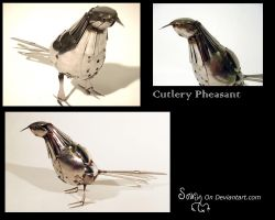 Cutlery Pheasant by Sovriin