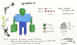 Fake Mob: Zomboss by Astrix-Phneuman