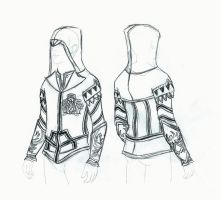 Assassin's Creed 2 Ezio Hoodie by ellehcore