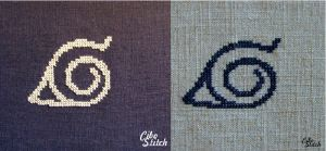 Konoha stitching by Skraya