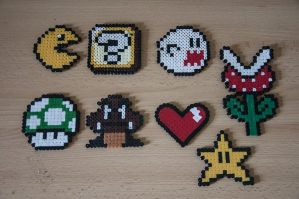 Perler Games by CreaGeek