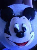 Mickey Mouse Cake by katiesparrow1