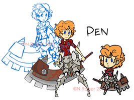 Newcomer: Pen by The-Knick