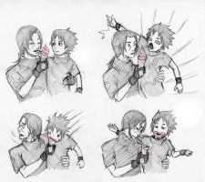 ice cream drama brothers by Sanzo-Sinclaire