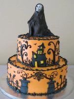 My Mother's 2013 halloween cake by Chri11ejonsson