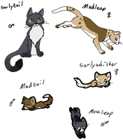 Cat Breedables #3 Litter3 by AerithsAdopts