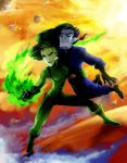 CC: Shego and Drakken by MistyTang