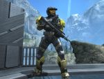 Washington in Halo Reach by KATTALNUVA
