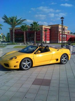 Ferrari at the Mall by ZimTheHomicidal