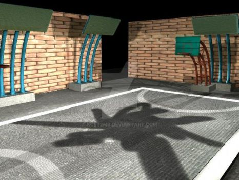 Midterms : Basketball Court 3 by kcet2mb