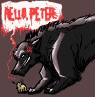 HELLO, PETER. by selonian
