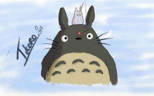 Totoro by gguitarart
