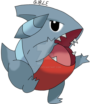 Gible by Inkcess